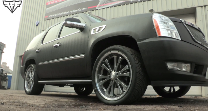 Djibril Cisse's Custom Cadillac Escalade [Video]