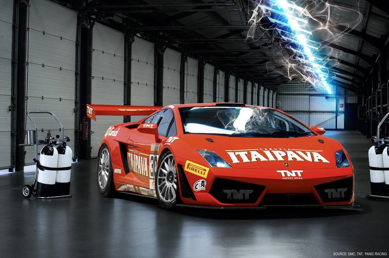 Lamborghini Gallardo Generazioni GT3