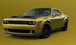 Dodge Challenger Gold Rush Returns for the 2021 Model Year
