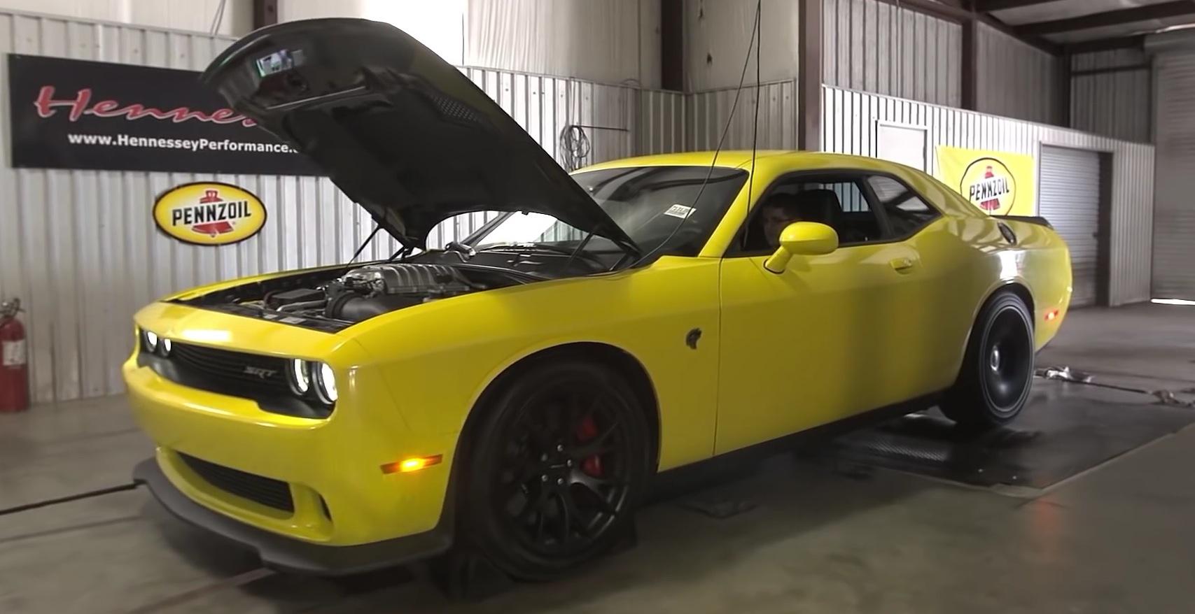 Dodge Challenger Hellcat to Receive Hennessey Power Upgrade