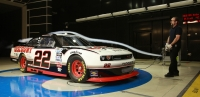 Dodge Challenger NASCAR Nationwide race car photo