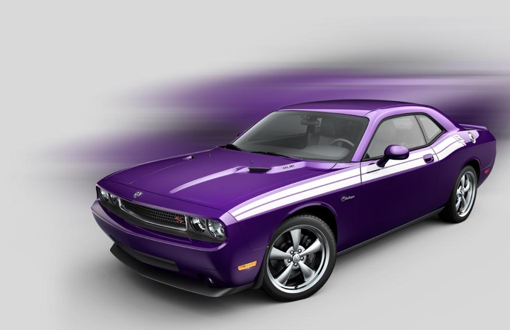 Dodge Challenger Plum Crazy Details and Photos - autoevolution