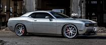 Dodge Challenger Rides on ADV.1 Wheels [Photo Gallery]