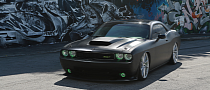 Dodge Challenger SRT8 Rides on Vossen Wheels [Video][Photo Gallery]