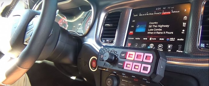 Dodge Charger Hellcat Gets LED Lights and Siren, Not a ...