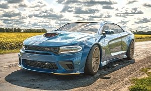 Dodge Charger Hellcat Widebody Coupe Is the Big Two-Door We All Want