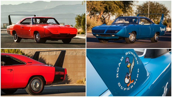 Dodge Charger Hemi Daytona And Plymouth Hemi Superbird