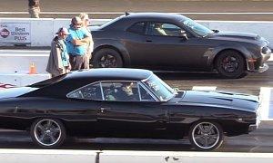 Dodge Demon Drag Races 1970 Dodge Charger R/T, America Wins