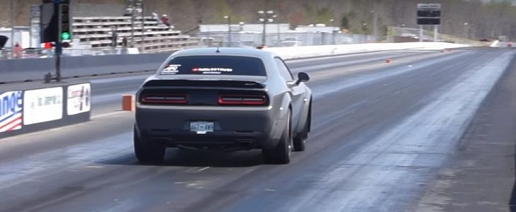 Dodge Demon Pulls 9 4s Quarter Mile Run With A Little Tune