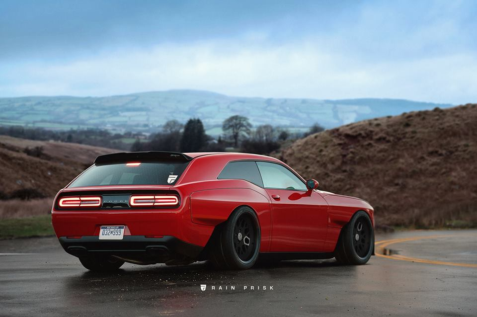 Dodge Demon Shooting Brake Rendered Out For Muscle Car