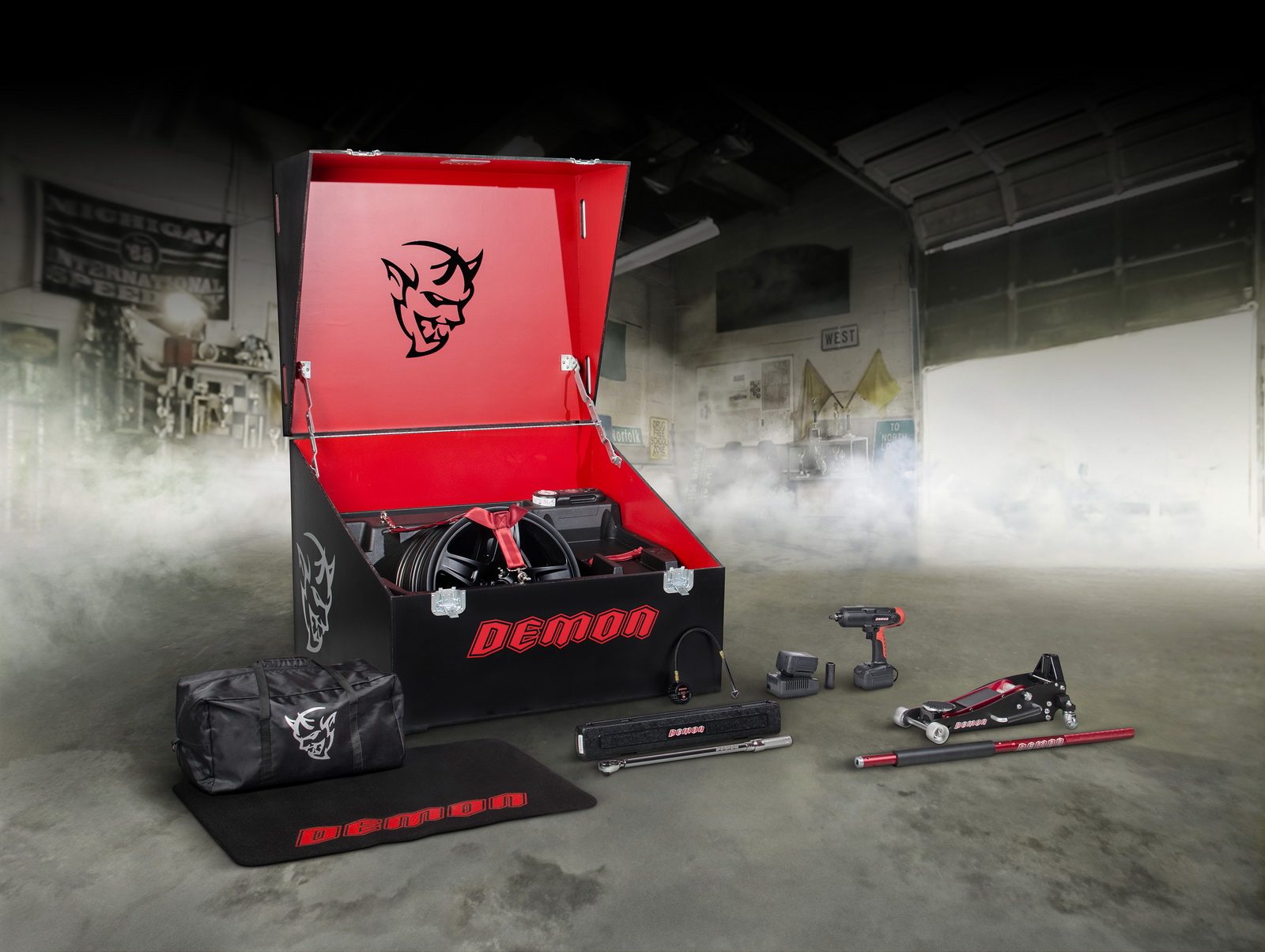 dodge hellcat demon crate Dodge Details Demon Crate For The Baddest Challenger Of