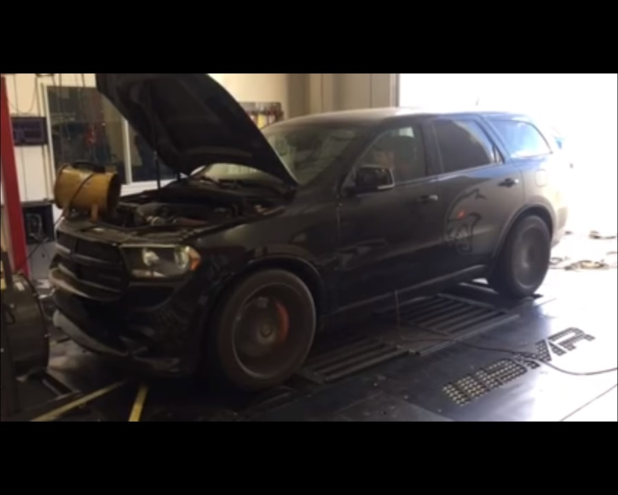 Dodge Durango Hellcat >> Dodge Durango Hellcat V8 Engine Swap Is Oem Tuning Done