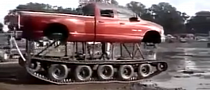 Dodge Ram on Tracks Defies the Mud [Video]