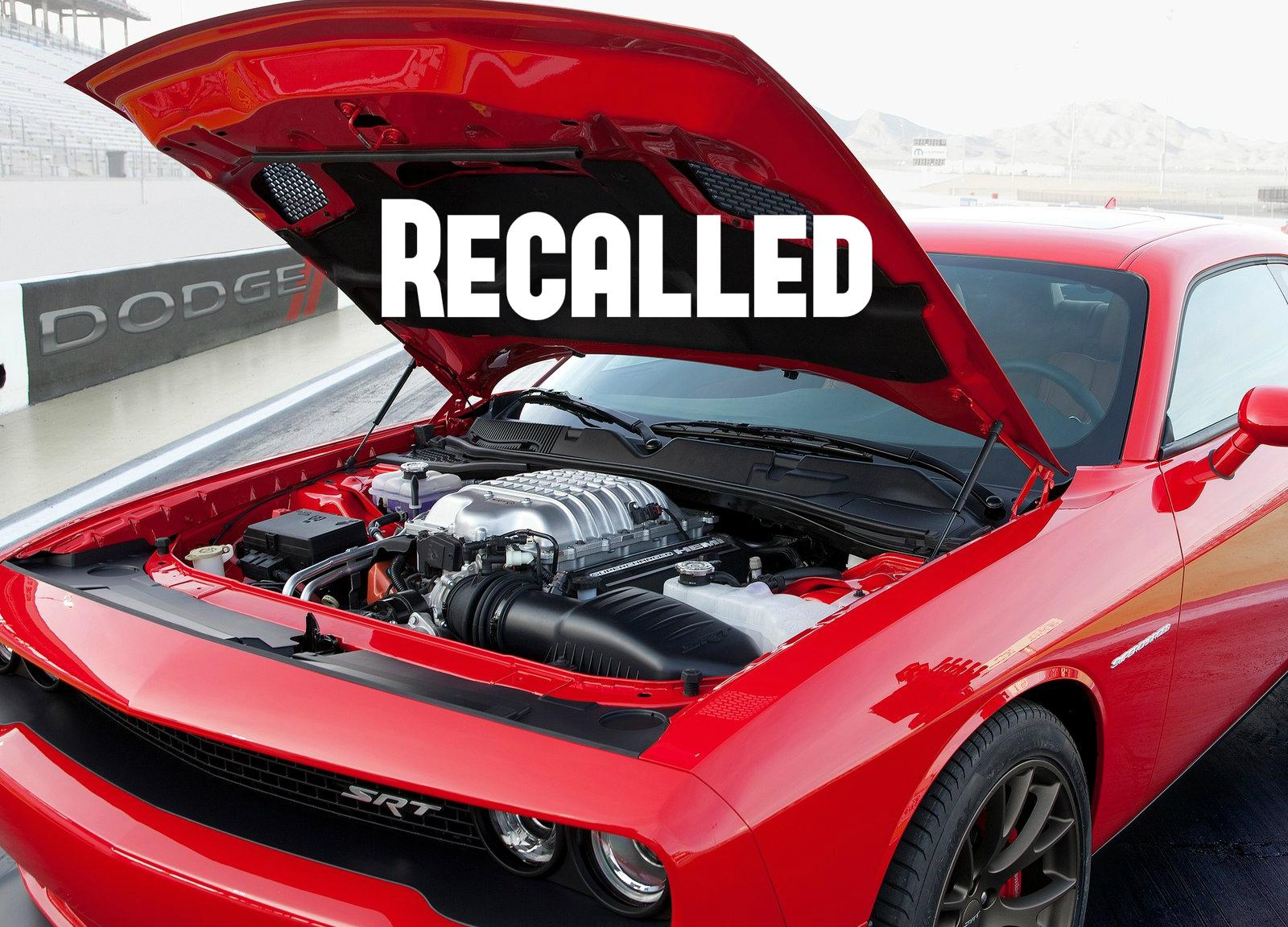 dodge recalls challenger srt hellcat charger srt hellcat 2 211 cars affected autoevolution. Black Bedroom Furniture Sets. Home Design Ideas