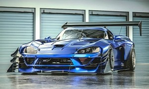"Dodge Viper ""Time Assault"" Looks Like Precise American Muscle"
