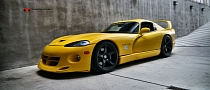Dodge Viper Venom 650R Gets HRE Wheels [Photo Gallery]