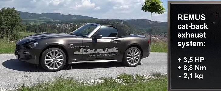 Does The Fiat 124 Spider Sound Better With Remus Exhaust Autoevolution: Fiat 500 Exhaust Sound At Woreks.co