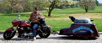 Dog Saucer Motorcycle Trailer Seems Fun [Photo Gallery][Video]