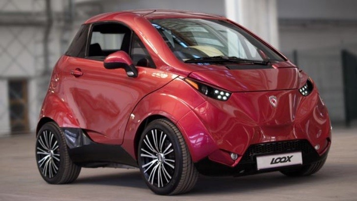 Dok Ing Loox Is Your Next Luxury Ev City Car Autoevolution