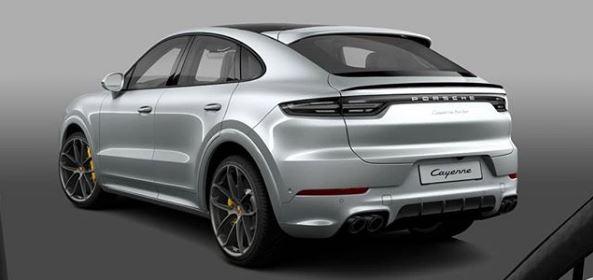 Dolomite Silver Porsche Cayenne Turbo Coupe Shows Greedy Spec Autoevolution
