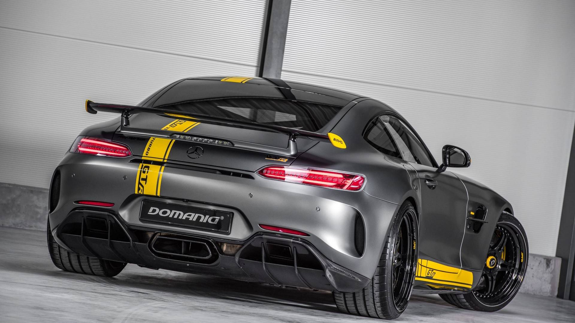 Domanig Gtr Is Not Your Average Mercedes Amg Gt R Tuning Job