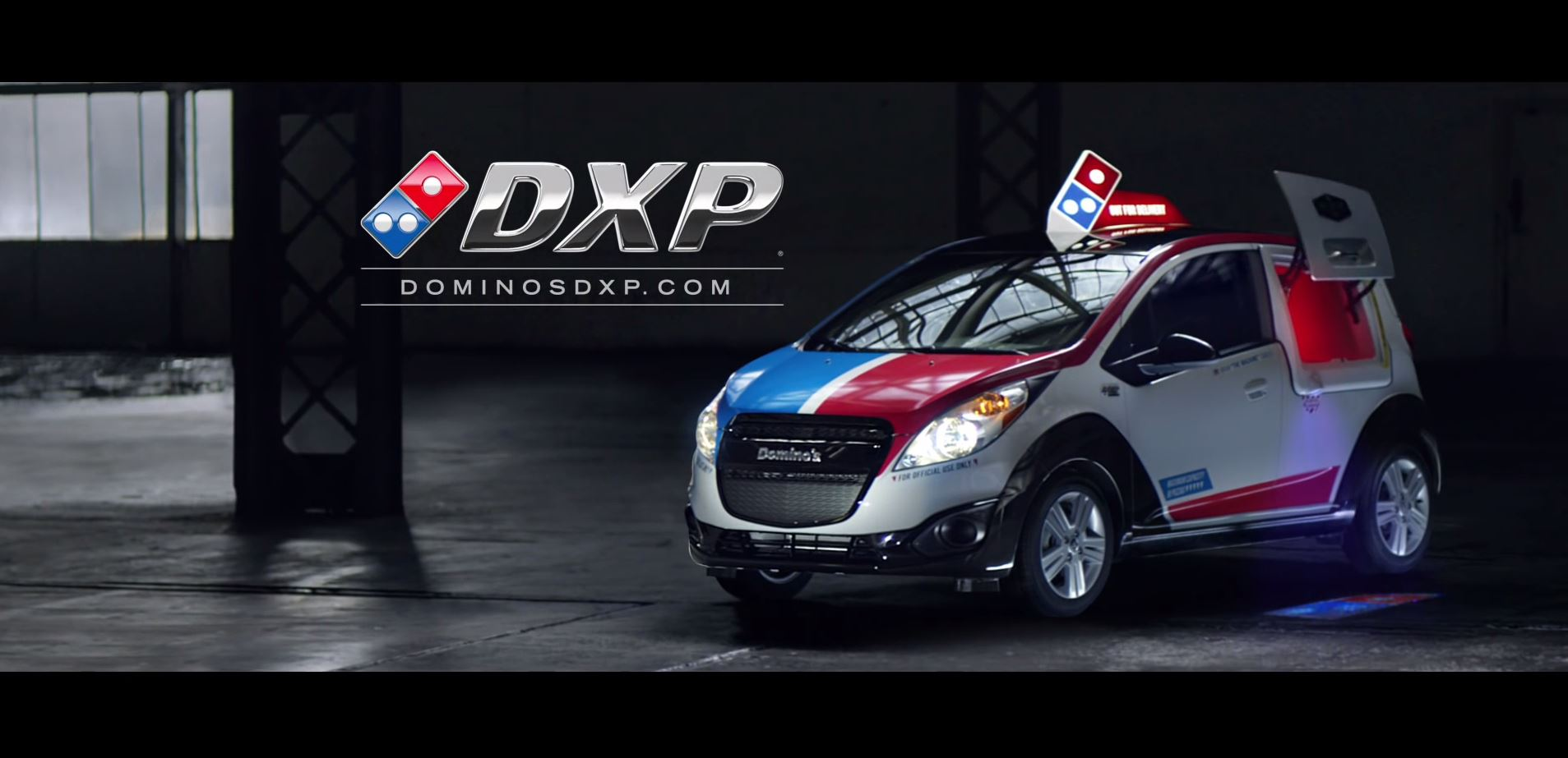 Domino S Dsx Is A Kickass Chevy Spark With A Pizza Oven