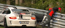 Don't Chuck It Son: 911 GT3 Passenger Loses Lunch [Video]