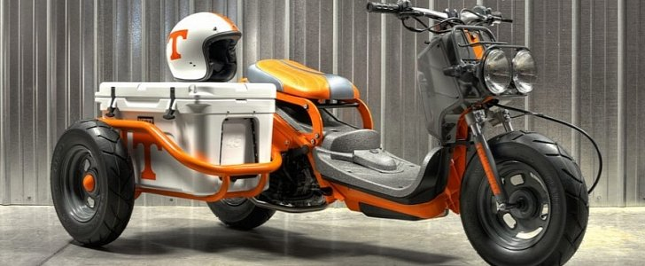 Donate 1 Buck And You Could Win This Cool Honda Ruckus