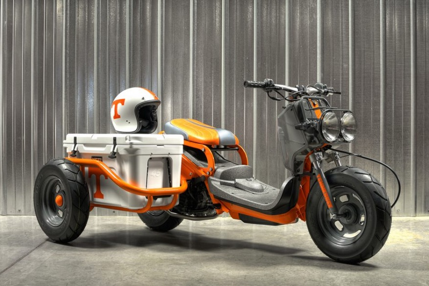 Donate 1 Buck And You Could Win This Cool Honda Ruckus Autoevolution