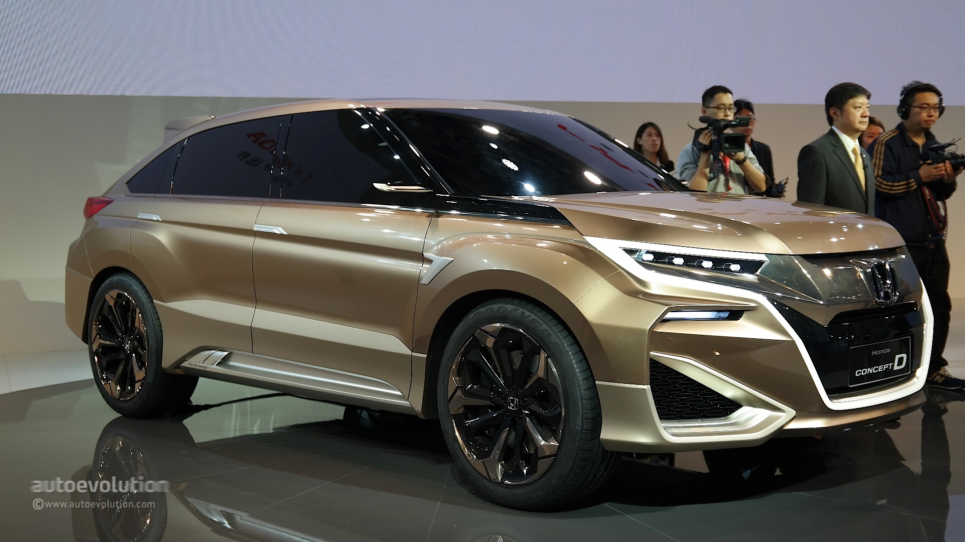 Dongfeng Honda Concept D Previews China-Only Crossover at Shanghai ...