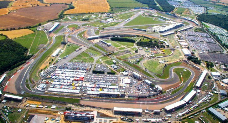 Donington-Relocated Circuit of Wales British MotoGP Round Back at Silverstone - autoevolution