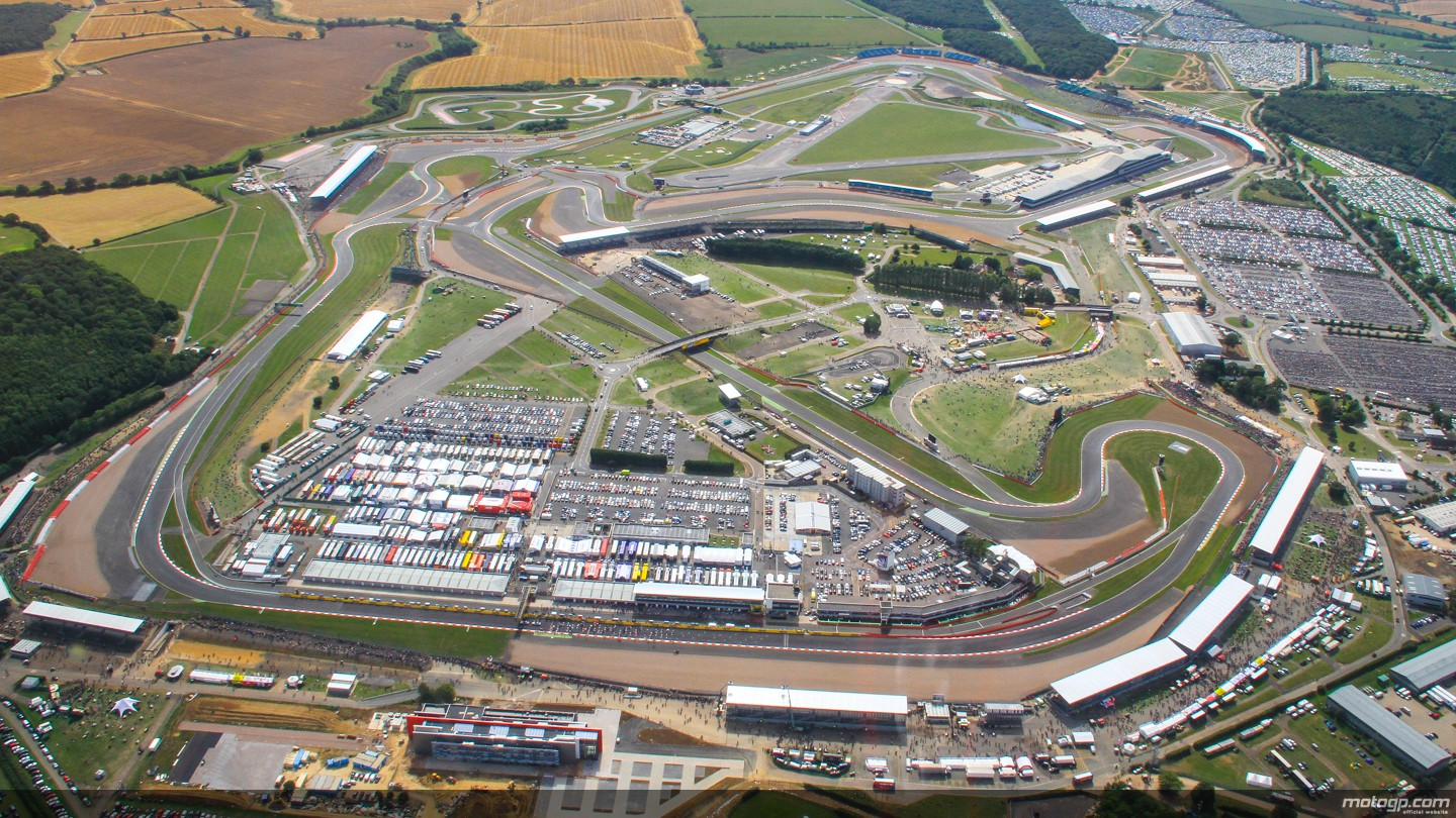 Donington Relocated Circuit Of Wales British Motogp Round