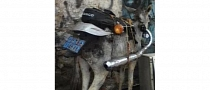 Donkey with a Motorcycle Exhaust Makes No Sense