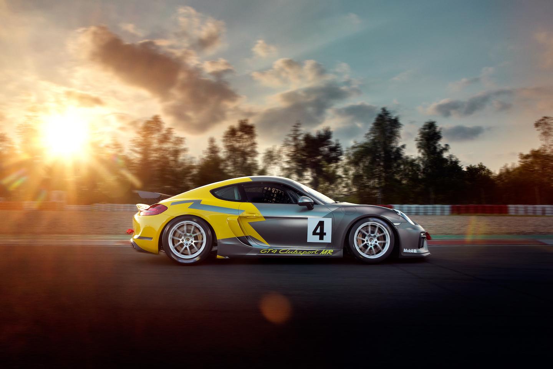 Don T Call Me Cayman Behold The Porsche Gt4 Clubsport Mr