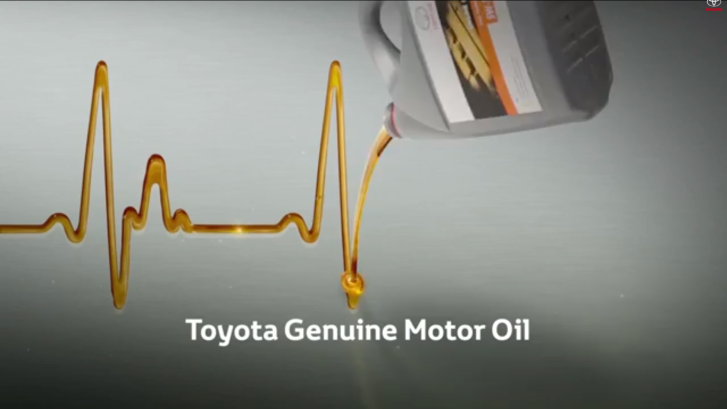 Don T Forget To Use Toyota Genuine Motor Oil For Next