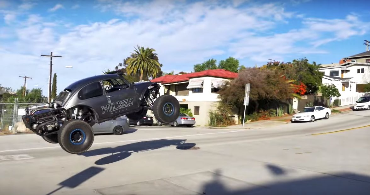 Douchebag In 800 Hp Baja Bug Gets Sponsored To Terrorize