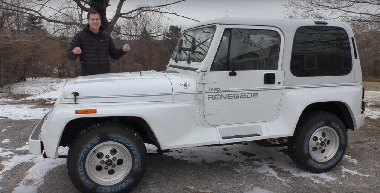Jeep Wrangler Renegade >> Doug Demuro Drives 1993 Jeep Wrangler Renegade Compares It To The