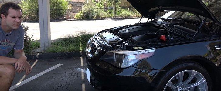Doug DeMuro Drives E60 BMW M5, Talks Engine Failure and Maintenance Issues