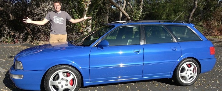 Doug DeMuro Just Bought a Fast 25-Year-Old Audi RS2 Avant, Gives Us a Tour