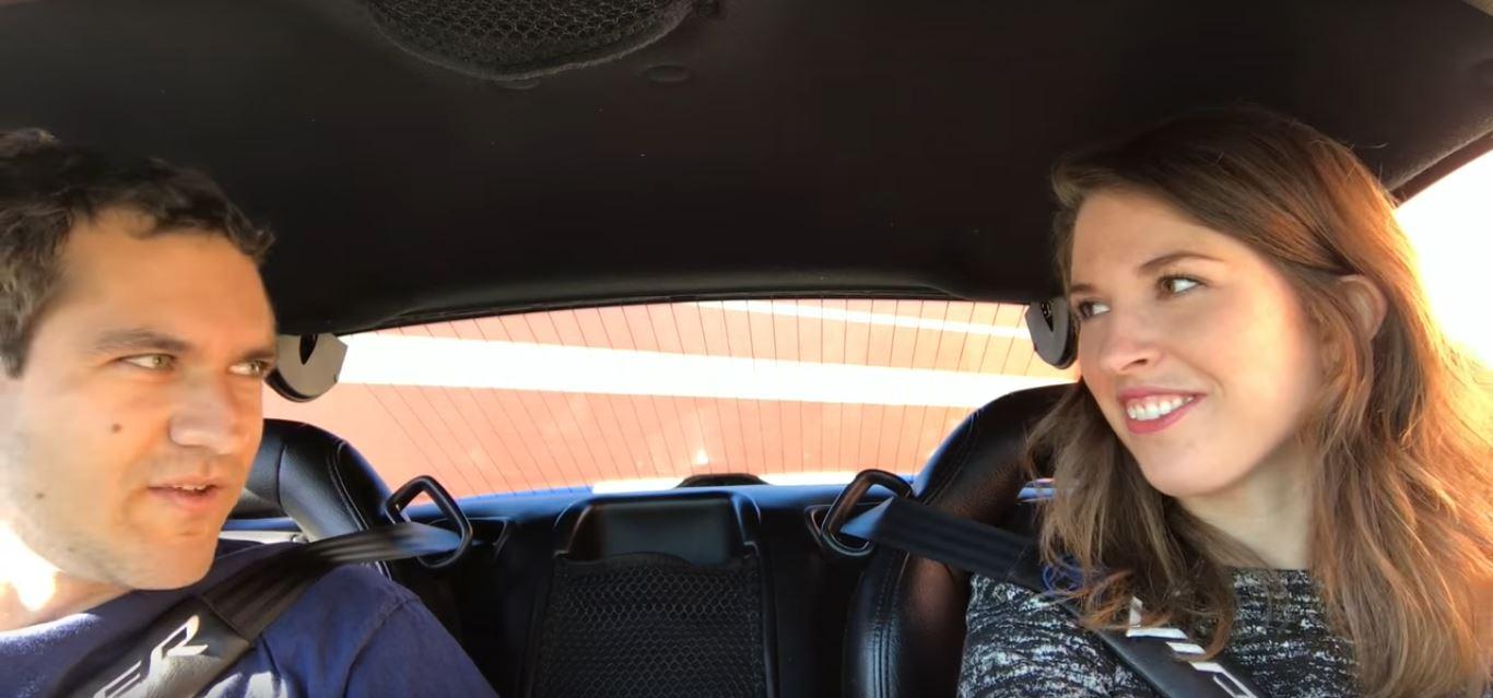 Doug Demuro Teaches Female Friend To Drive Stick In His