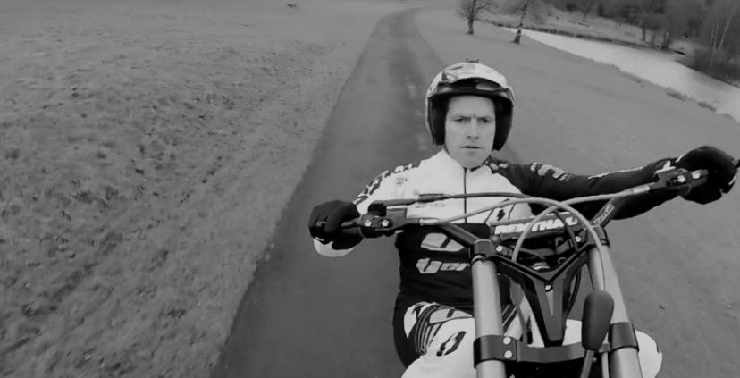 Dougie Lampkin Preparing For World Record Wheelie Autoevolution