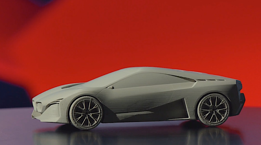 Download And 3d Print Your Own Bmw Vision M Next In Any Size