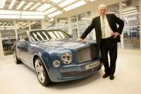 New Business Secretary visits Bentley Motors