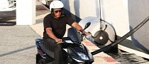 Dr. Dre Spotted Cruising on a Scooter