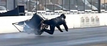 Drag Motorcycle Crash in Slow Motion [Video]