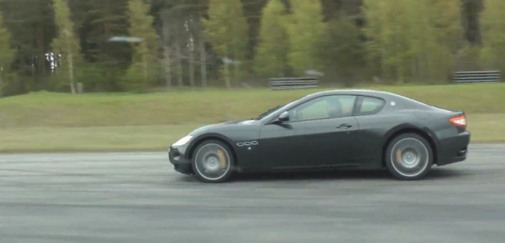 Drag Race Bmw Alpina B5 Touring Vs Maserati Granturismo