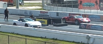 Drag Race: Corvette ZR1 vs Heffner Ford GT [Video]