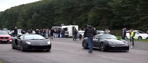 Drag Race: Lamborghini Aventador vs RUF CTR3 [Video]