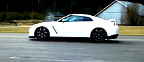 Drag Race: Lamborghini Gallardo vs GT-R with 600 HP [Video]