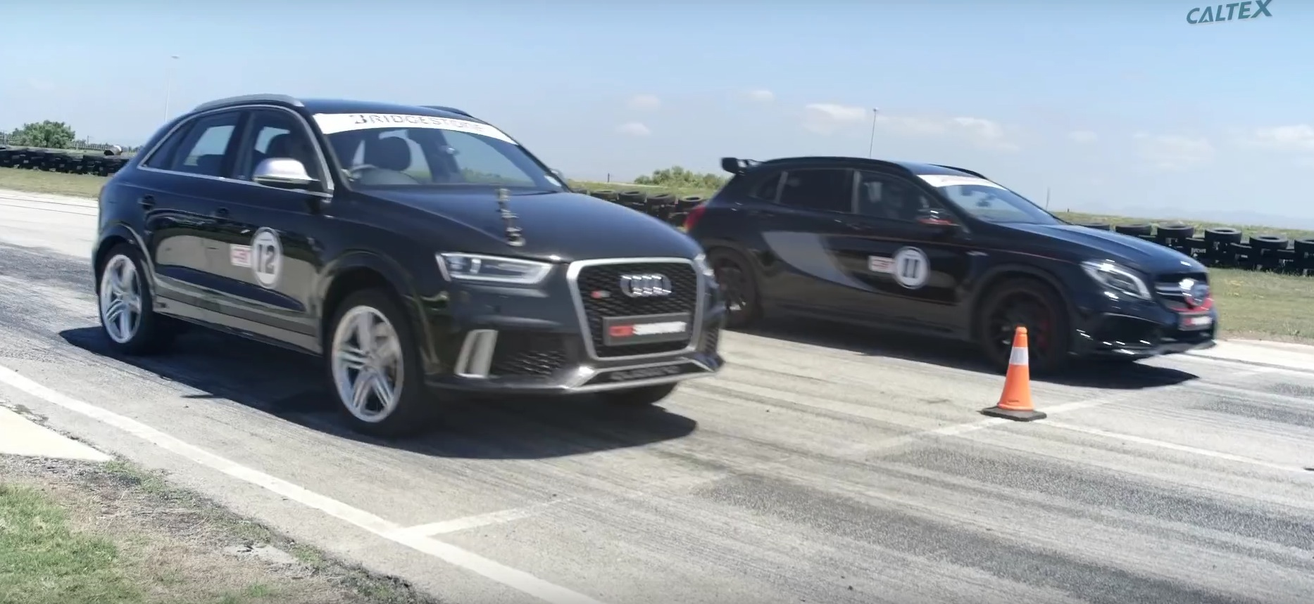 Drag Race: Mercedes GLA 45 AMG vs. Audi RS Q3 - autoevolution